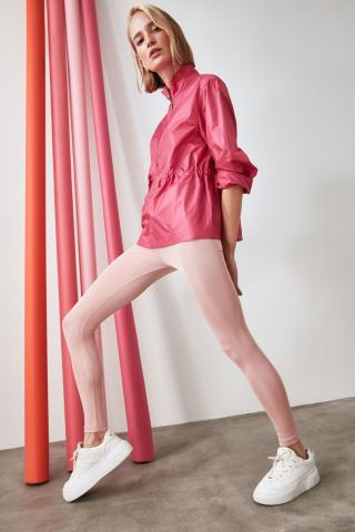 Trendyol Salmon Bright Disco Knitted Tights XS