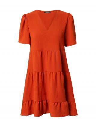 Trendyol Šaty  hrdzavo červená dámské 42