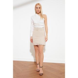 Trendyol Stone Belt Detailed Skirt dámské 34