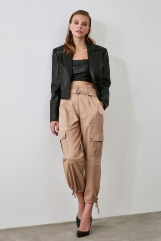 Trendyol Stone Pocket Detailed Pants dámské 34