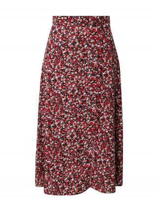 Trendyol Sukňa  čierna / pitaya / biela / krémová dámské 36