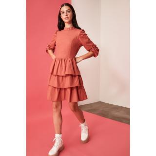 Trendyol Tile Flywheel Dress dámské 34