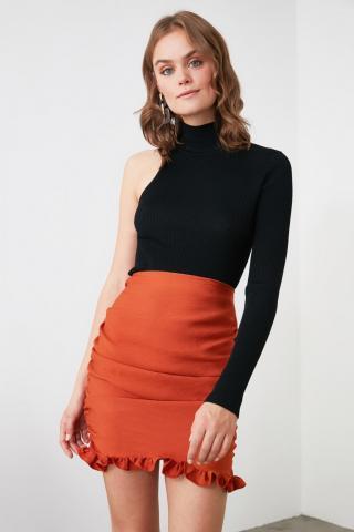Trendyol Tile Frilled Skirt dámské 36