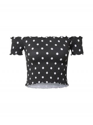 Trendyol Tričko  čierna / biela dámské M