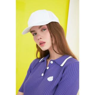 Trendyol White Back Adjustable Cap Hat dámské One size