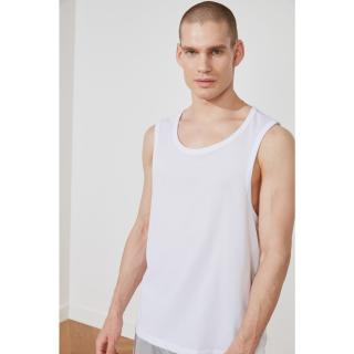 Trendyol White Male Regular Fit Athlete S
