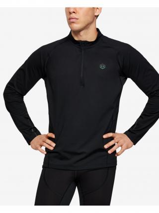 Tričká s dlhým rukávom pre mužov Under Armour - čierna pánské XXL