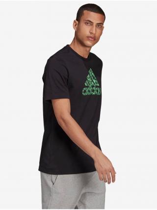 Tričká s krátkym rukávom pre mužov adidas Performance - čierna pánské S