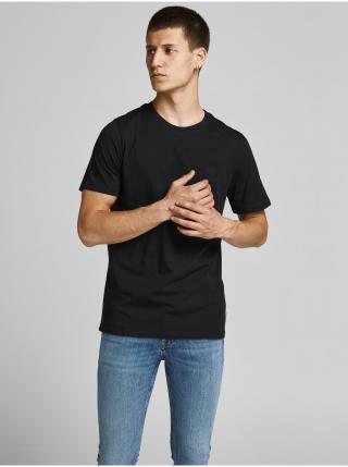Tričká s krátkym rukávom pre mužov Jack & Jones - čierna pánské S