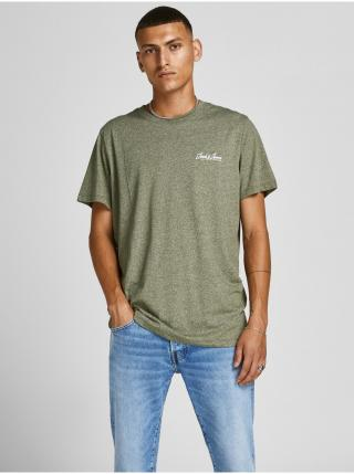 Tričká s krátkym rukávom pre mužov Jack & Jones - zelená pánské S