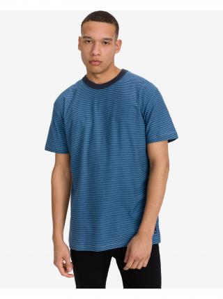 Tričká s krátkym rukávom pre mužov Quiksilver - modrá pánské S