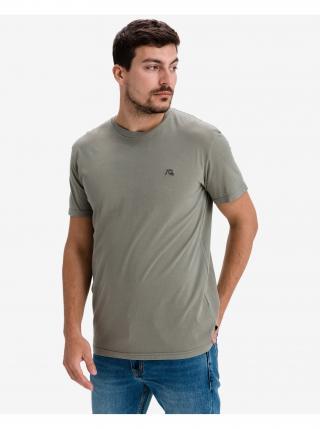 Tričká s krátkym rukávom pre mužov Quiksilver - zelená pánské XS