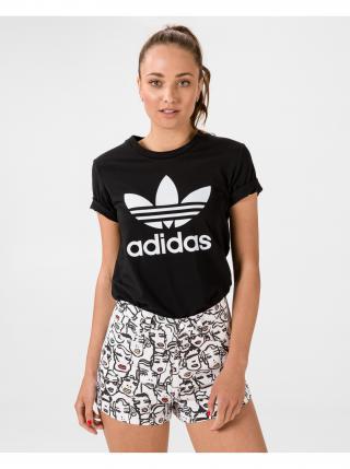 Tričká s krátkym rukávom pre ženy adidas Originals - čierna dámské S