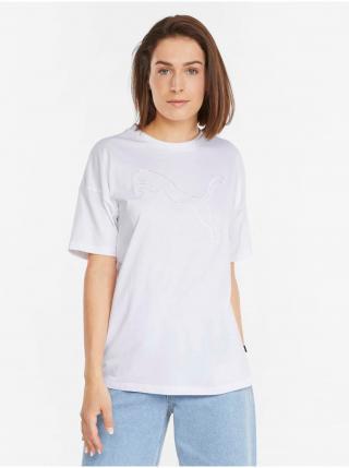 Tričká s krátkym rukávom pre ženy Puma - biela dámské L