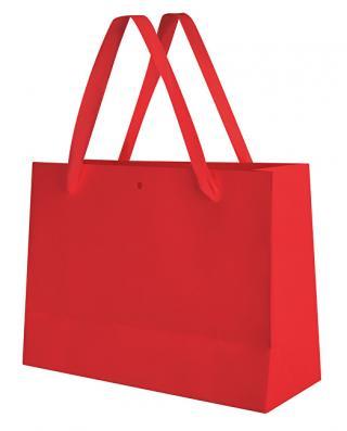 Troli Červená darčeková taška dámské