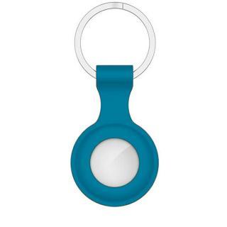 Troli Svetlo modré puzdro pre Apple AirTag Light Blue dámské strieborná