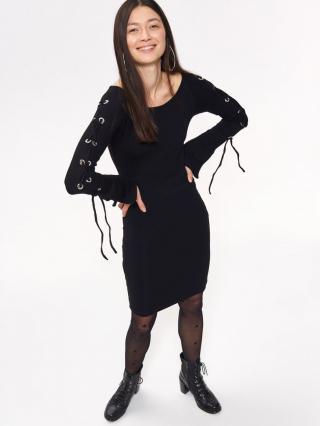 Troll LADYS DRESS dámské Black One size