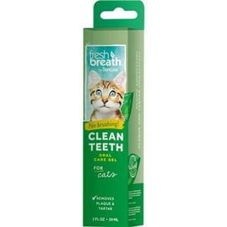 Tropiclean čistiaci gél na zuby pre mačky 59 ml