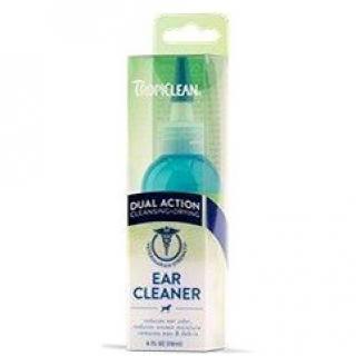 Tropiclean kvapky na čistenie uší – dvojaký účinok 118 ml