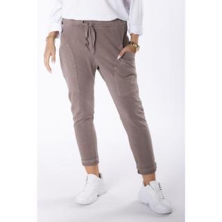 trousers with decorative pockets dámské Other One size