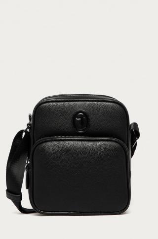 Trussardi Jeans - Malá taška pánské čierna ONE SIZE