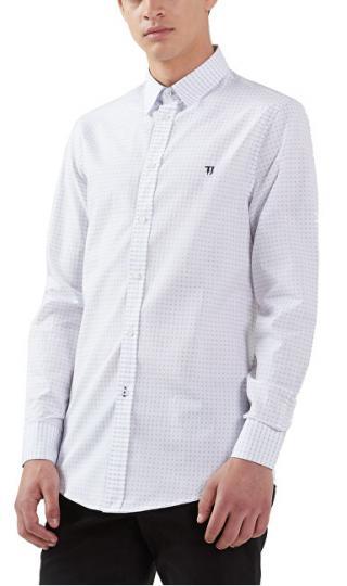 Trussardi Pánska košeľa Miami Collar 52C00113-W001 White XL