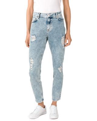 TWINSET Jeans Modrá dámské 25