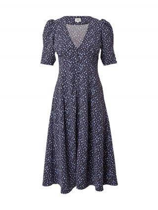 Twist & Tango Košeľové šaty SANIA  modrosivá / azúrová / čierna dámské 38