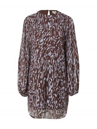Twist & Tango Šaty Abigail  hnedá / levanduľová dámské 34