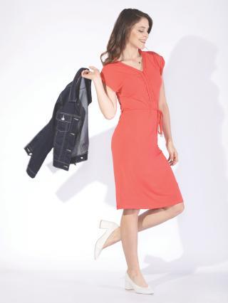 TXM Womans LADYS DRESS  dámské Red S