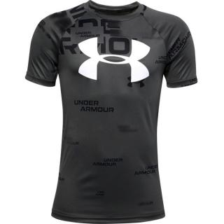 UA Tech Big Logo Printed SS-BLK - L L