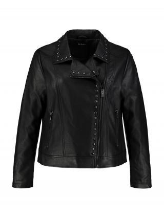 Ulla Popken Prechodná bunda  čierna dámské M-L