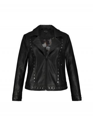 Ulla Popken Prechodná bunda  čierna dámské M