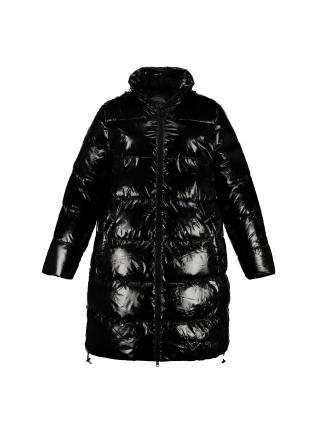 Ulla Popken Prechodný kabát  čierna dámské XL-XXL