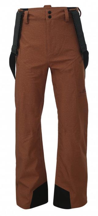 ULLVI - ECO pánské 3L lyžařské kalhoty - rusty pánské Neurčeno One size