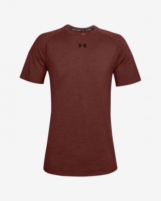 Under Armour Charged Cotton® Tričko Červená Hnedá pánské S