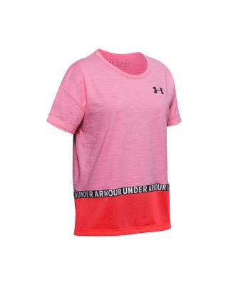 Under Armour Charged Cotton® Tričko detské Ružová dámské L