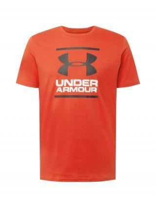 UNDER ARMOUR Funkčné tričko  Foundation   červená / čierna / biela pánské XL