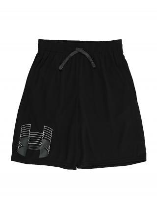 UNDER ARMOUR Športové nohavice  čierna / biela pánské 176-188