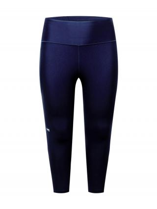 UNDER ARMOUR Športové nohavice  námornícka modrá / biela dámské XL