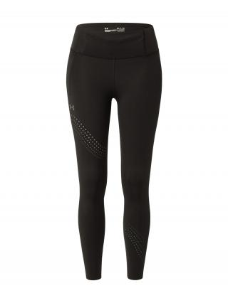 UNDER ARMOUR Športové nohavice Speedpocket  čierna / biela dámské L
