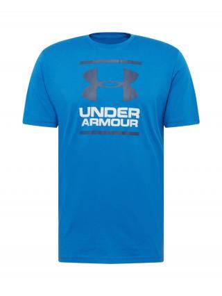 UNDER ARMOUR Tričko Foundation  modrá / čierna / biela pánské L