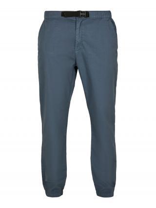 Urban Classics Chino nohavice  modrosivá / čierna pánské 32