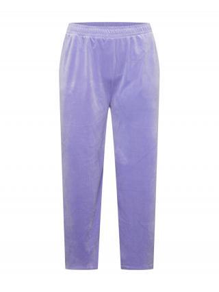 Urban Classics Curvy Nohavice  fialová dámské 44