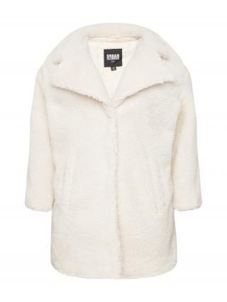 Urban Classics Curvy Prechodný kabát Sherpa  krémová dámské XXL