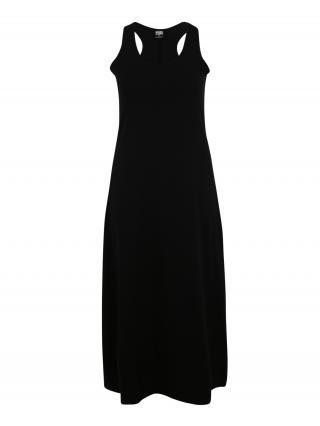Urban Classics Curvy Šaty  čierna dámské 46