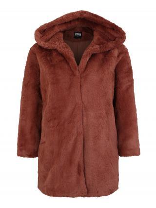 Urban Classics Curvy Zimný kabát  hrdzavohnedá dámské XXL