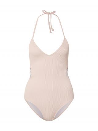 Urban Classics Jednodielne plavky  ružová dámské XS