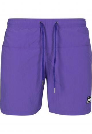 Urban Classics Plavecké šortky  neónovo fialová pánské XS