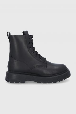 Vagabond - Kožená obuv Jeff pánské čierna 40